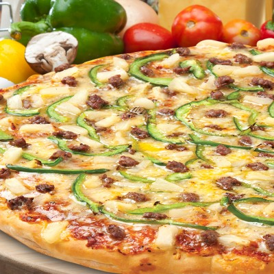 Beef Bonanza Pizza