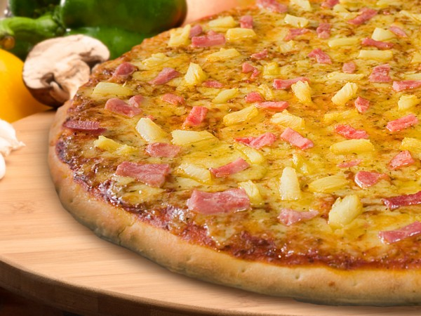 Hawaiian Craze Pizza