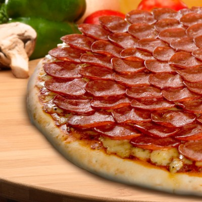 Pepperoni Feast Pizza