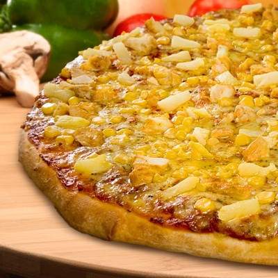 Tropical Chicken Pizza