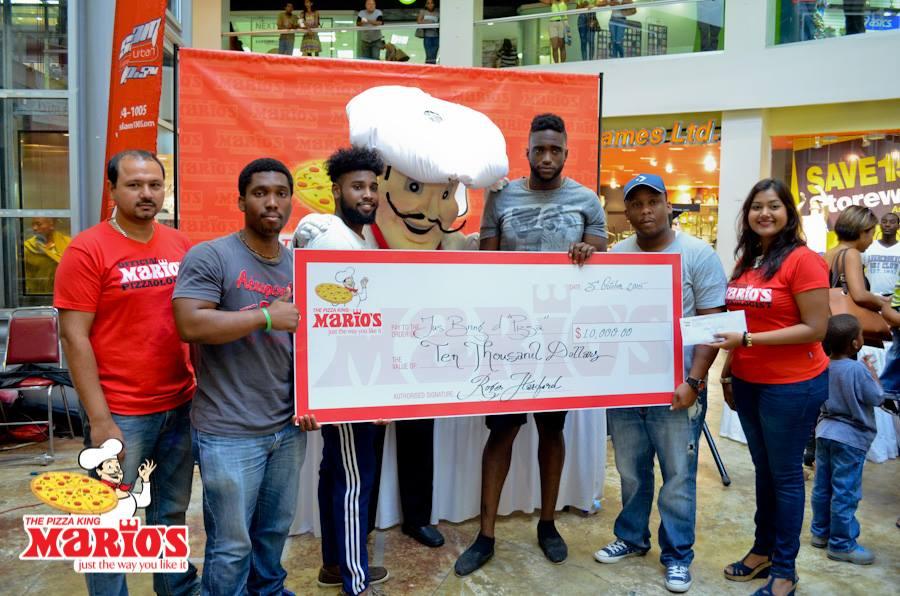 2015 National Pizza-eating Contest Team Winner